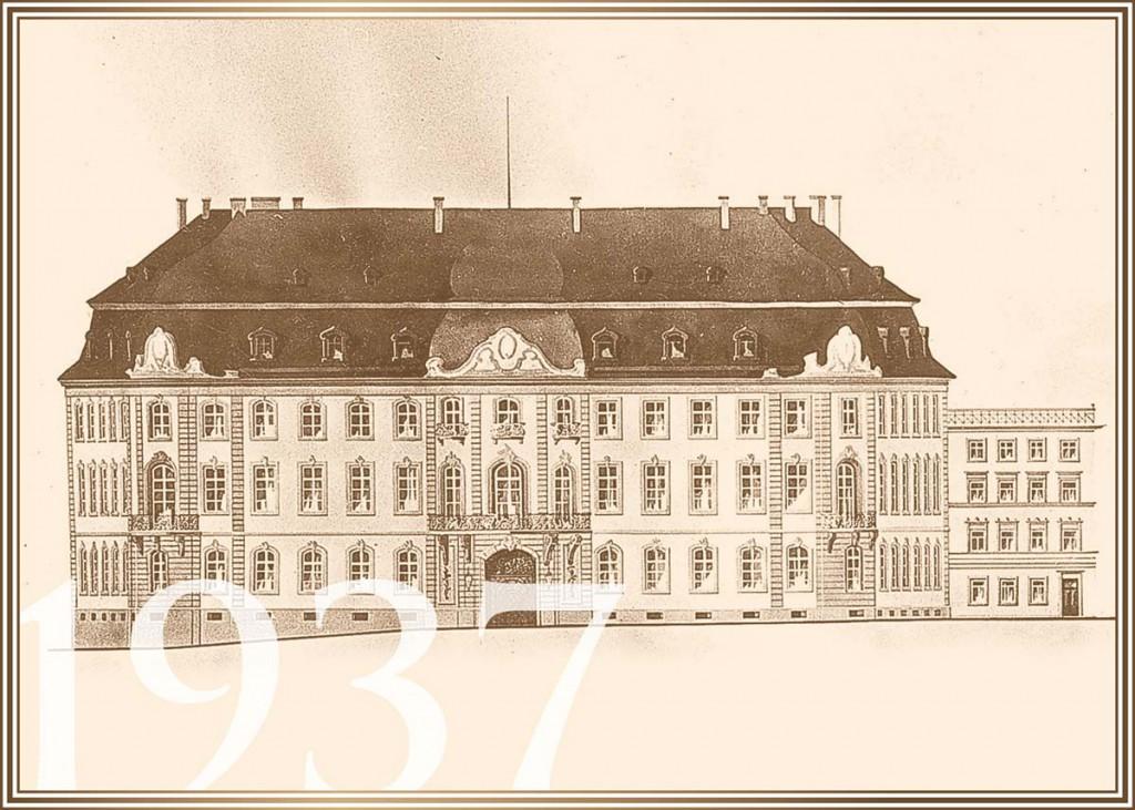 1937 Fassadengestaltung