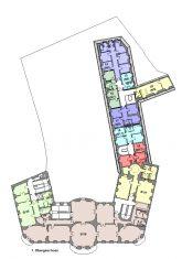 Grundriss Nebengebäude 1. Obergeschoss